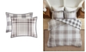 Madison Park Sheffield King/California King 3-Pc. Cotton Printed Reversible Duvet Cover Set