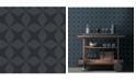 """A-Street Prints 20.5"""" x 396"""" Telestar Geometric Wallpaper"""