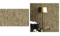 "Advantage 20.5"" x 369"" Boulders Glitter Marble Wallpaper"