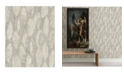 "A-Street Prints 21"" x 396"" MonolithAbstract Wood Wallpaper"