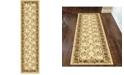 """KM Home CLOSEOUT! 1427/1714/IVORY Navelli Ivory 2'2"""" x 8' Runner Rug"""