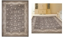 """KM Home CLOSEOUT! 3810/0011/BROWN Gerola Brown 5'3"""" x 7'3"""" Area Rug"""
