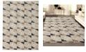 "KM Home CLOSEOUT! 3793/1001/BONE Imperia Ivory/ Cream 5'3"" x 7'3"" Area Rug"