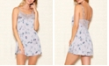 iCollection Hummingbird Print Chemise Nightgown, Online Only