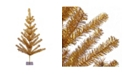 Northlight 3' Gold Tinsel Pine Artificial Christmas Twig Tree - Unlit