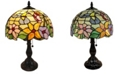 Amora Lighting Tiffany Style Hummingbird Design Table Lamp