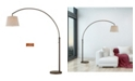 """Artiva USA Allegra 79"""" LED Arch Floor Lamp with Dimmer"""