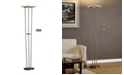 """Artiva USA Luciano 72"""" LED 40W Torchiere Floor Lamp Touch Dimmer"""