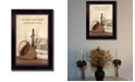 """Trendy Decor 4U Quilted Together By SUSAn Boyer, Printed Wall Art, Ready to hang, Black Frame, 14"""" x 10"""""""