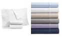 AQ Textiles Bergen House Woven Diamond Dot 4-Pc. Full Sheet Set, 1000-Thread Count 100% Certified Egyptian Cotton