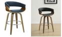 Coaster Home Furnishings Prichard Upholstered Swivel Bar Stool