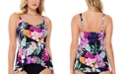 Swim Solutions Princess-Seam Tankini Top, Created for Macy's