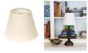 Macy's Cloth&Wire Slant Empire Hardback Lampshade with Bulb Clip