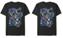 Marvel Men's Avengers Endgame Tech Block Portraits, Short Sleeve T-shirt