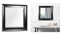 Crystal Art Gallery American Art Decor Leighton Beveled Vanity Wall Mirror