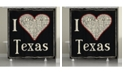 Laural Home I Love Texas Shower Curtain