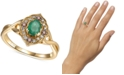Le Vian Multi-Gemstone (1/2 ct. t.w.) Statement Ring in 14k Gold