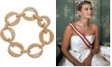Grace Kelly Collection 18k Gold Plated Bold Link Bracelet