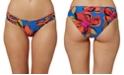 O'Neill Juniors' Gala Printed Strappy Hipster Bikini Bottoms