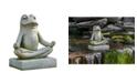 Campania International Mini Zen Frog Garden Statue