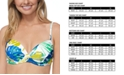 Raisins Juniors' Palm Springs Moonshadow Underwire Bikini Top