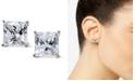 Arabella Swarovski Zirconia Square Stud Earrings