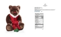 Godiva Holiday Plush Bear Chocolate Gift Box, 6 Piece Set