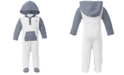 First Impressions Baby Boys Stripe Dog Coverall Set, Created for Macy's