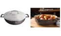 Saveur Selects 4.5-Qt. Enameled Cast Iron Brasier with Stainless Steel Lid