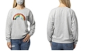 Crave Fame Crave Frame Juniors' Sequin Sweatshirt and Solid Mask