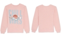 Warner Brothers Juniors Bugs Bunny Graphic Print Sweatshirt