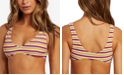 Volcom Juniors' Striped Bikini Top