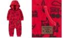 Carter's Carters Baby Boy Zip-Up Hooded Fleece Jumpsuit