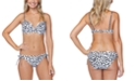Raisins Juniors' Eco Capsule Spot On Printed Underwire Bikini Top & Side-Tie Bikini Bottoms
