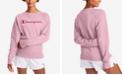 Champion Women's Powerblend Graphic Boyfriend Sweatshirt