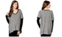 Drew Maternity Drop-Shoulder Textured Sweater
