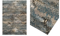 """Dalyn CLOSEOUT! Modern Abstracts Salon Teal 7'10"""" x 10'7"""" Area Rug"""