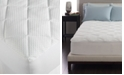 Spring Air Active Cool Overfilled Queen Mattress Pad, Sports Technology Moisture Management