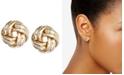 Anne Klein Knot Stud Earrings