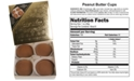 Betsy Ann Chocolates Betsy Ann Chocolate 4-Pc. Giant Peanut Butter Cup