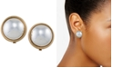 Lauren Ralph Lauren Gold-Tone Sphere Clip-on Earrings