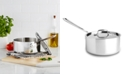 All-Clad Stainless Steel 3 Qt. Covered Saucepan