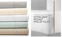 Fairfield Square Collection CLOSEOUT! Essex StayFit 6-Pc Extra Deep Pocket King Sheet Set 1200 Thread Count, Created for Macy's