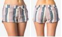 O'Neill Juniors' Malina Cotton Striped Shorts