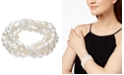 Macy's Cultured Freshwater Baroque Pearl (7mm) 5-Pc. Stretch Bracelet Set