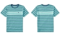 Polo Ralph Lauren Ralph Lauren Striped Cotton T-Shirt, Big Boys