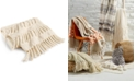 "Lacourte LAST ACT! Riley Cotton Textured Tassel 50"" x 60"" Throw, Created for Macy's"