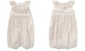 Polo Ralph Lauren Ralph Lauren Floral Ruffled Cotton Romper, Baby Girls