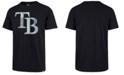 '47 Brand Men's Tampa Bay Rays Scrum Logo T-Shirt