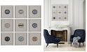 Furniture Ren Wil Buttons 9-Pc. Wall Décor, Quick Ship